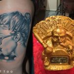 rock tetoválás, rock tattoo