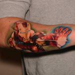 vasember tetoválás, ironman tattoo