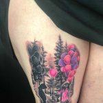 lufi tetoválás, balloon tattoo