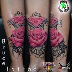 bruce 23 kar alkar arm colour forearm szines color rose pink ink man tattoo studio budapest tetovalas bruce - Tetoválás, Ink man tattoo studio, Tetoválás Budapest, piercing