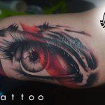 bruce 35 kar arm colour eyes szines color szem ink man tattoo studio budapest tetovalas bruce - Tetoválás, Ink man tattoo studio, Tetoválás Budapest, piercing