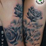 fekete rózsa tetoválás , black rose tattoo