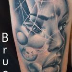női arc tetoválás, women face tattoo