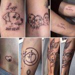 sok féle tetoválás, many kinds tattoo