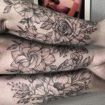 alkar virág tetoválás ,forearm flower tattoo