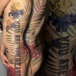 virág tetoválás, flower tattoo