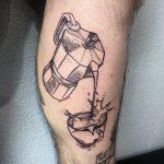 kávé tetoválás, coffee tattoo