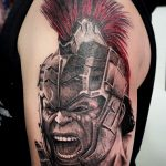 harcos tetoválás, warrior tattoo