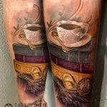 csésze tetoválás, cup tattoo