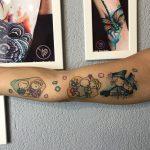 dalma 90 szines color colour budapesttattoo arm armtattoo ink man tattoo studio budapest tetovalas dalma - Tetoválás, Ink man tattoo studio, Tetoválás Budapest, piercing