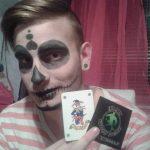 joker kártya matrica, joker card sticker