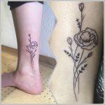 pipacs tetoválás, poppy tattoo