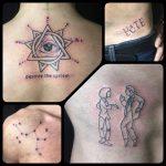 júlia vegyes tetoválás, julia mixed tattoo