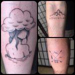 kaland tetoválás, adventure tattoo