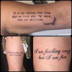 felirat vegyes tetoválás, subtitle mixed tattoo