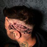 teknős fej tetoválás, turtle head tattoo