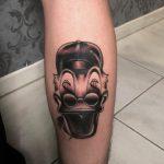 158 black fekete back body color ink man tattoo studio budapest tetovalas bruce - Tetoválás, Ink man tattoo studio, Tetoválás Budapest, piercing