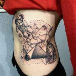 űrhajós egyiptomi tetoválás, astronaut egyptian tattoo