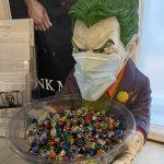 cukortartó Joker a szalonban, sugar bowl Joker in the salon