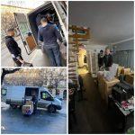 költözés az új szalonba, moving to the new salon