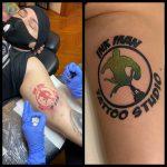 Ink Man Tattoo Studio logó tetoválás, Ink Man Tattoo Studio logo tattoo