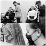 piercing fül studioban, piercing ears in studio