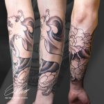 alkar teli kar tetoválás, forearm full arm tattoo