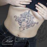 Medúza kígyók tetoválás, Jellyfish snakes tattoo