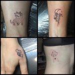 sün virág teknősbéka ufo tetoválás, hedgehog flower turtle ufo tattoo