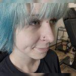 három darab orr piercing, three nose piercings