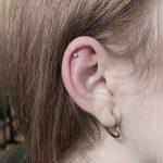 helix piercing 1