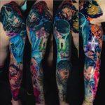 film egész kar tetoválás, movie full arm tattoo