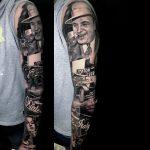 maffia film tetoválás, mafia movie tattoo